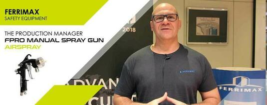 Ferrimax FPro spray gun production manager testimony