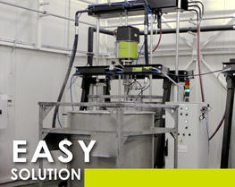 Easy thick pumping solution