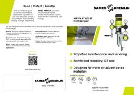 Leaflet 02C85 Airspray Paint Pump (English version) SAMES KREMLIN