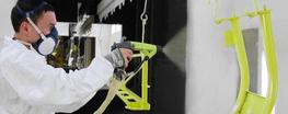 Easy liquid electrostatic Airmix solution for one painter