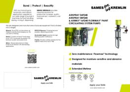 Leaflet 04F240 08F240 16F240 airspray Flowmax® paint pump (English version) SAMES KREMLIN