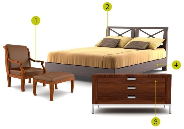Protection, bonding and sealing for furniture